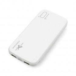 Powerbank Ampere AEPW10-IC2U biały