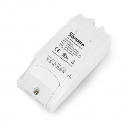 Sonoff Pow - przełącznik WiFi z pomiarem poboru mocy