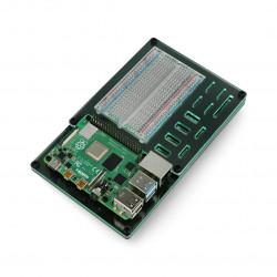 ProtoDock - Acrylic dock for Raspberry Pi 3B/4B