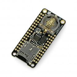 Adalogger FeatherWing - moduł z zegarem RTC i slotem microSD dla serii Feather