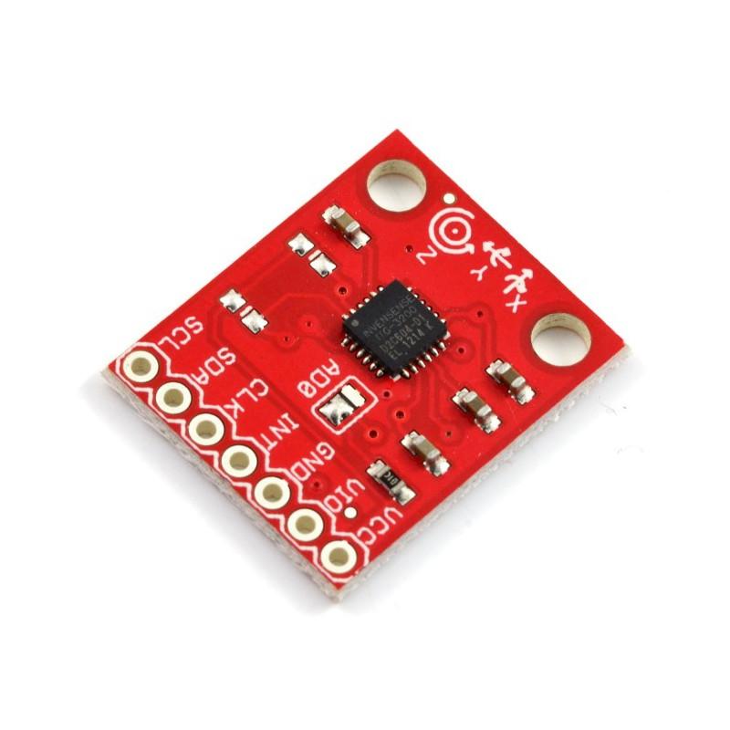 ITG-3200 3-osiowy żyroskop cyfrowy I2C - SparkFun SEN-11977