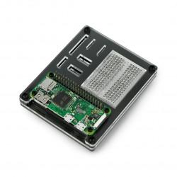 Akrylowa stacja dokująca ZeroDock dla Raspberry Pi Zero