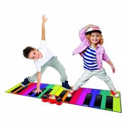 Rainbow Colours Piano Mat - music mat