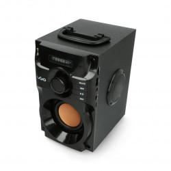 Głośnik bluetooth UGO soundcube 10 W RMS - czarny