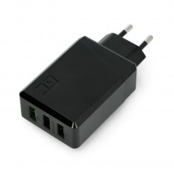 Green Cell Charge Source 3 x USB 30W with Ultra Charge and Smart Charge fast charging