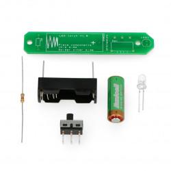 Zestaw do budowy latarki LED