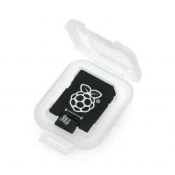 Karta pamięci Raspberry Pi micro SD / SDHC + system NOOBs