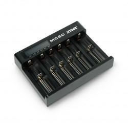 Ładowarka akumulatorów XTAR MC6 - AA, AAA 1-6szt.