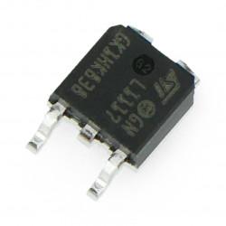 Stabilizator LDO ADJ LM1117 - SMD TO252