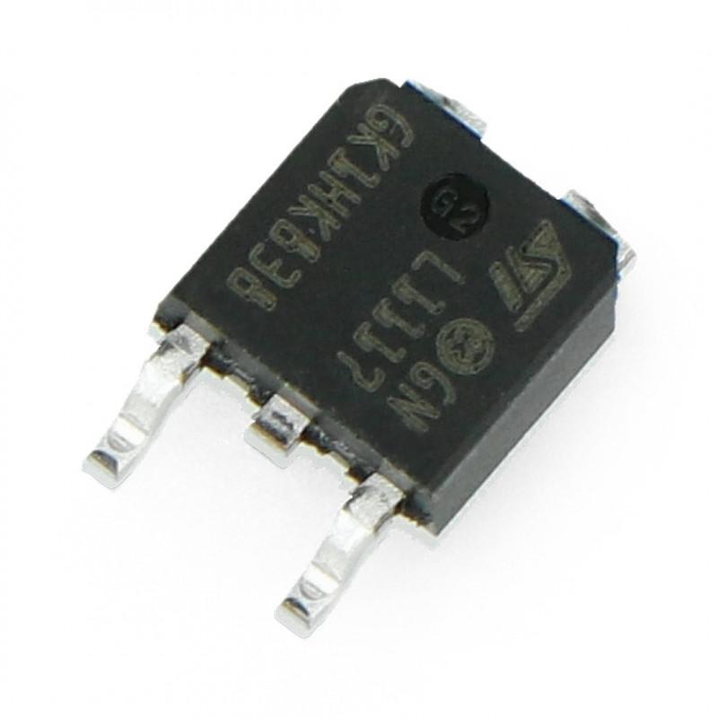 Linear voltage regulator LDO ADJ LM1117 - SMD TO252