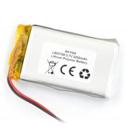 Akumulator Li-Pol Akyga 2200mAh 1S 3.7V