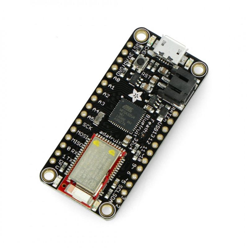 Feather Bluefruit LE 4.1 32u4 - compatible with Arduino - Adafruit 2829*
