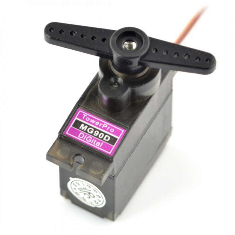 Servo TowerPro MG-90D - micro - continuous 360 degrees_