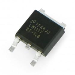 Stabilizator LDO 1,8V LM1117 - SMD TO252