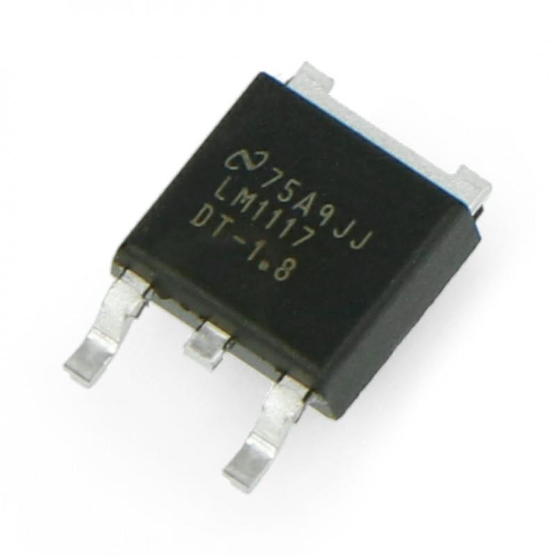 Linear voltage regulator LDO 1,8V LM1117 - SMD TO252