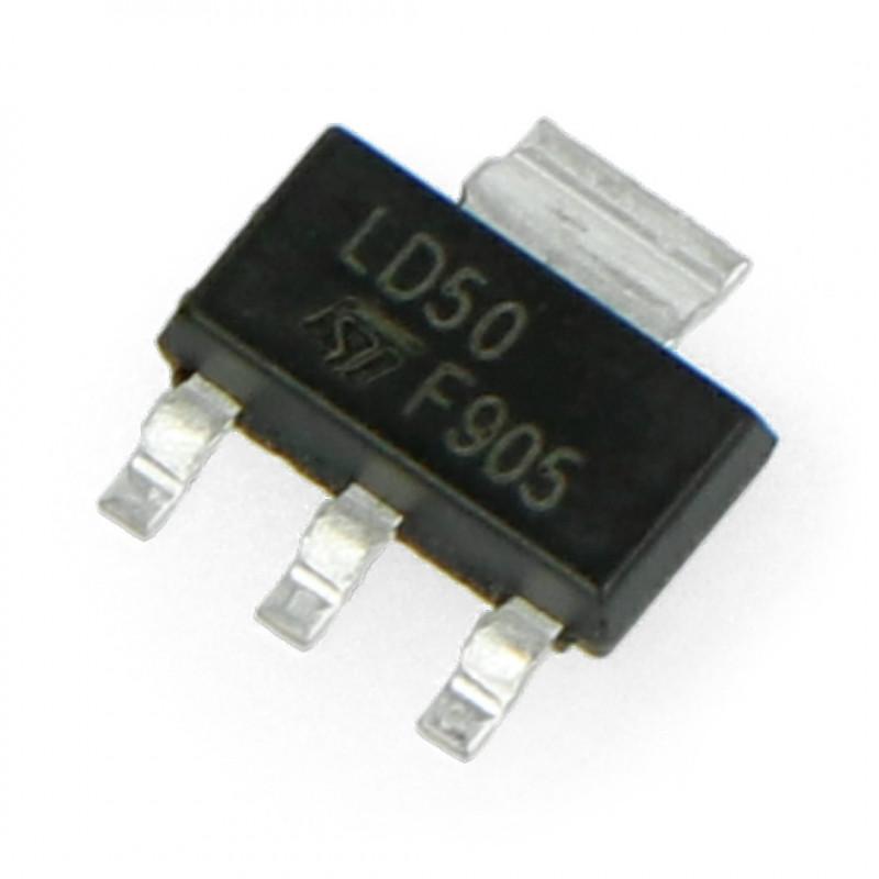 Stabilizator LDO 5V LM1117MP - SMD SOT223