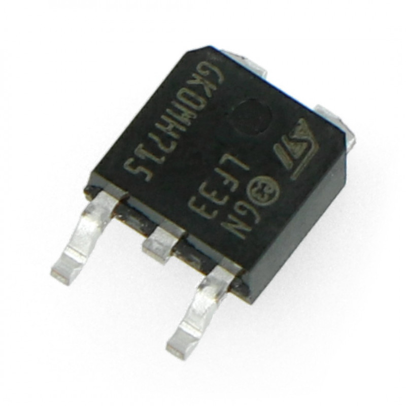 Linear voltage regulator LDO 3,3V LF33CDT - SMD TO252