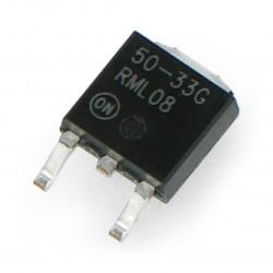 Voltage stabilizer LDO 3,3V LP2950CDT - SMD TO252