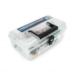StarterKit Elektro Przewodnik - z modułem Arduino Leonardo + box