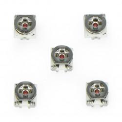 Potencjometr leżący SMD 3x3mm - 20k Ohm - 5szt.