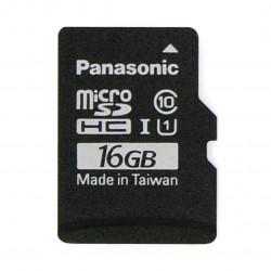 Karta pamięci Panasonic microSD 16GB 40MB/s klasa A1 (bez adaptera) + system Raspbian dla Raspberry Pi 4B/3B+/3B/2B/Zero