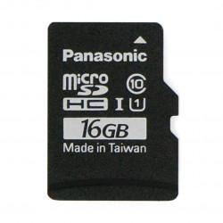 Panasonic memory card microSD 16GB 40MB/s class A1 + system Raspbian for Raspberry Pi 4B/3B+/3B/2B/Zero