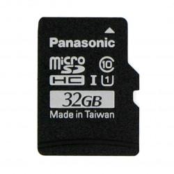 Karta pamięci Panasonic microSD 32GB 40MB/s klasa A1 (bez adaptera) + system Raspbian dla Raspberry Pi 4B/3B+/3B/2B/Zero