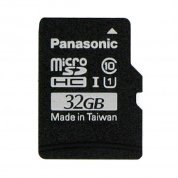 Panasonic memory card microSD 32GB 40MB/s class A1 + system Raspbian for Raspberry Pi 4B/3B+/3B/2B/Zero