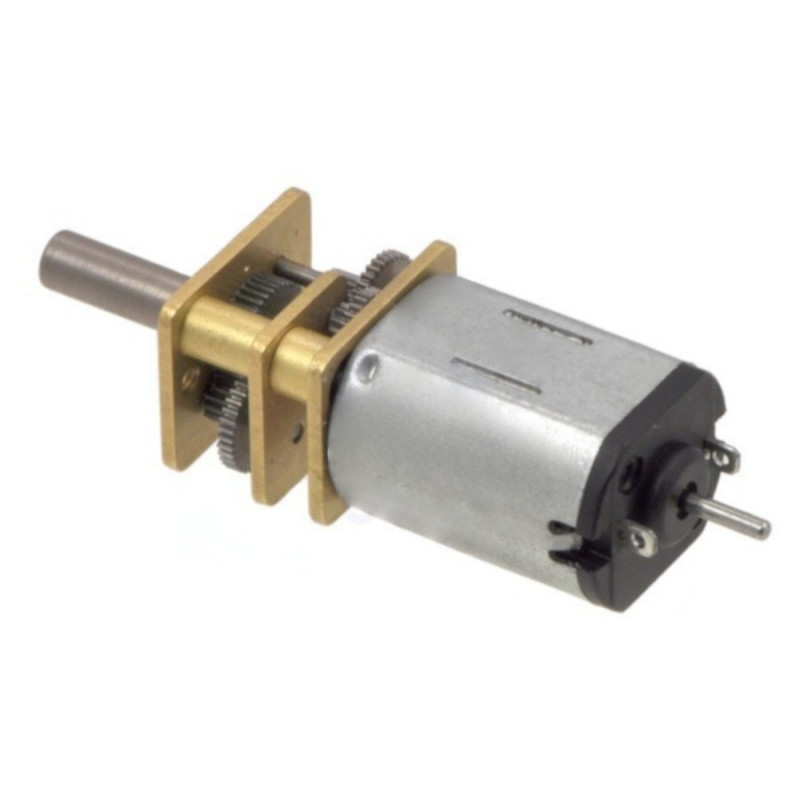 HP Motor with 100:1 Gear - doublesided shaft - Pololu 2214