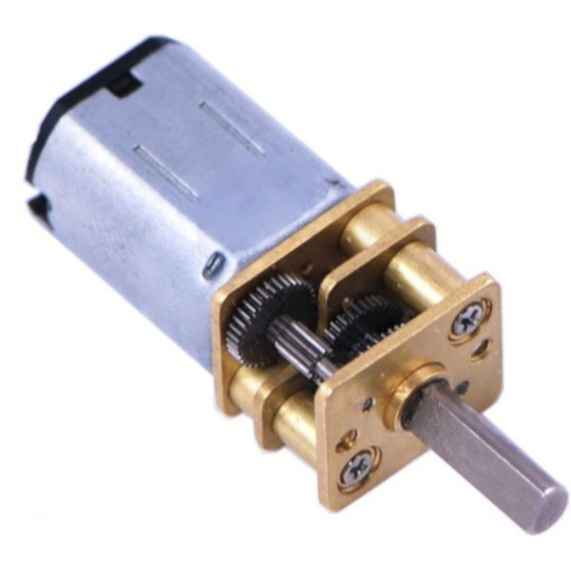 Motor with HP 5:1 Gear - Pololu 1000