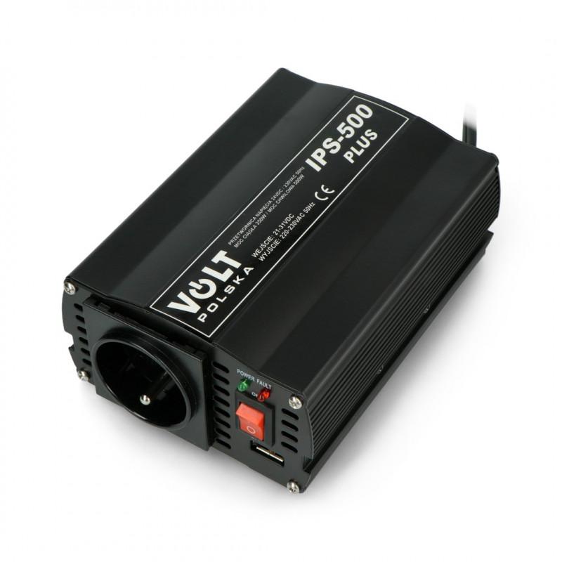 DC/AC Step-Up Voltage Regulator 24VDC / 230VAC 350/500W - car - Volt IPS-500 Plus