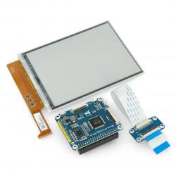 Ekran Waveshare E-paper E-Ink 6'' 1448x1072px - wyświetlacz dla Raspberry Pi 4B/3B+/3B/Zero