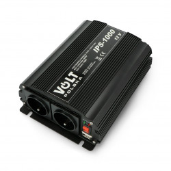 Przetwornica DC/AC step-up 12VDC / 230VAC 700/1000W - sinus - Volt IPS-1000