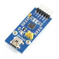 Konwerter USB-UART CP2102 - gniazdo miniUSB