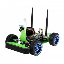 JetRacer - 4-wheel robot platform with camera, DC drive and OLED display for Nvidida Jetson Nano