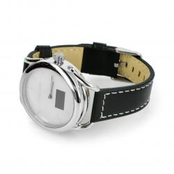 Inteligentny zegarek Kruger&Matz KMO0419 Hybrid - srebrny