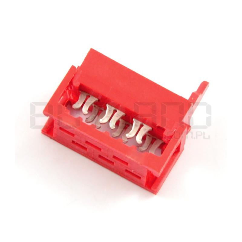 Złącze Micro-Match na taśmę 6 pin