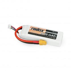 Pakiet Li-Pol Redox 2600 mAh 11.1V 50C