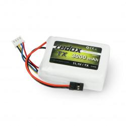 Pakiet Li-Pol Redox 3000 mAh 11.1V TX