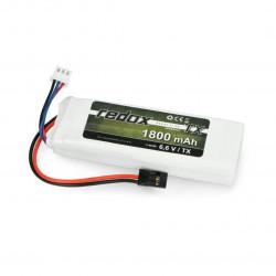 Pakiet Li-Fe Redox 1800mAh 6.6V JR