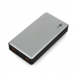 Mobile battery Powerbank Goobay 20.0 59854 Quick Charge 3.0 20,000 mAh - gray - black