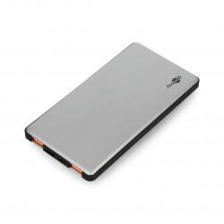 Mobilna bateria PowerBank Goobay 5.0 59820 Quick Charge 3.0 5000mAh - szaro - czarna
