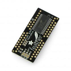 Adafruit LED FeatherWing - 4x 14-segment display - pad on the Pen