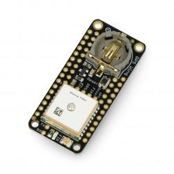Adafruit Ultimate GPS FeatherWing- moduł GPS MTK3339 z anteną