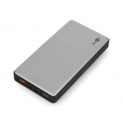 Mobilna bateria PowerBank Goobay 15.0 59819 Quick Charge 3.0 15000mAh - szaro - czarna
