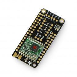 Adafruit FeatherWing moduł radiowy LoRa RFM95 433MHz - nakładka dla Feather