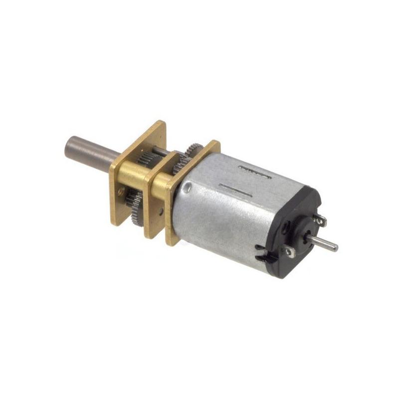 Motor with 100:1 Gear - doublesided shaft - Pololu 2204