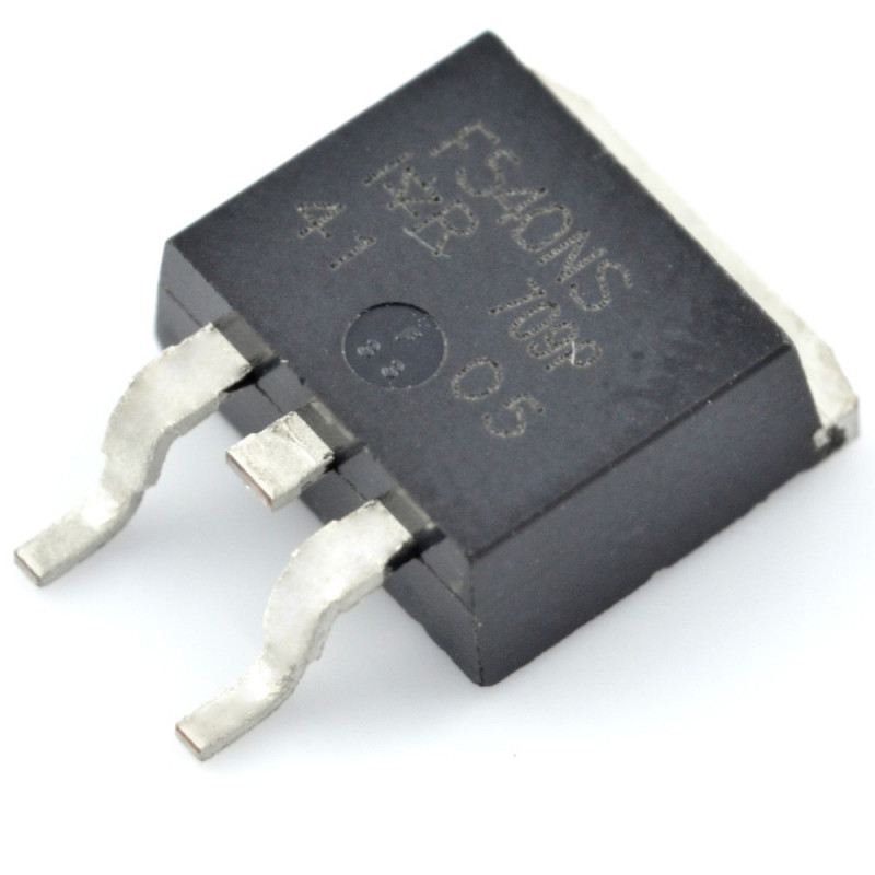 Transistor N-MOSFET IRF540NS 100V/33A - SMD_