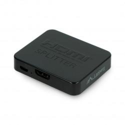 Splitter HDMI Lanberg - 2x HDMI 4K + mircoUSB czarny