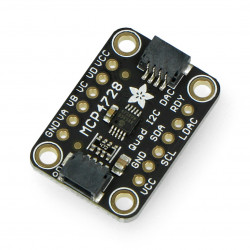 MCP4728 DAC I2C converter - 4 channels + EEPROM - Adafruit 4470